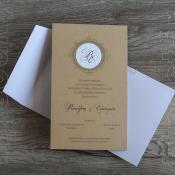 Προσκλητήριο γάμου typostar κωδ. 11050